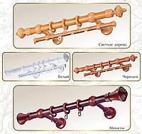 Карниз трубчатый Декор пластик 2 м, фото 1