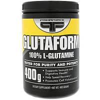 Primaforce, Glutaform, 100% L-Glutamine, Unflavored, 400 g