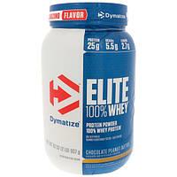 Dymatize Nutrition, Elite 100% Whey Protein, Chocolate Peanut Butter, 32 oz (907 g)