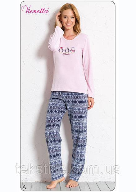 Пижама женская велюровая 6050118454