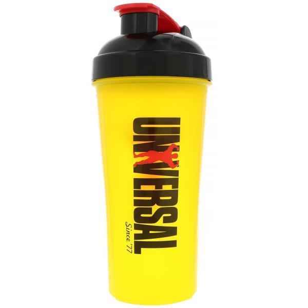 Universal Nutrition, Чаша шейкера, Желтая, 30 унц.