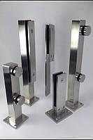 Фурнитура для стеклянных ограждений, стойки для стекла, крепление для стекла, соединители стекла