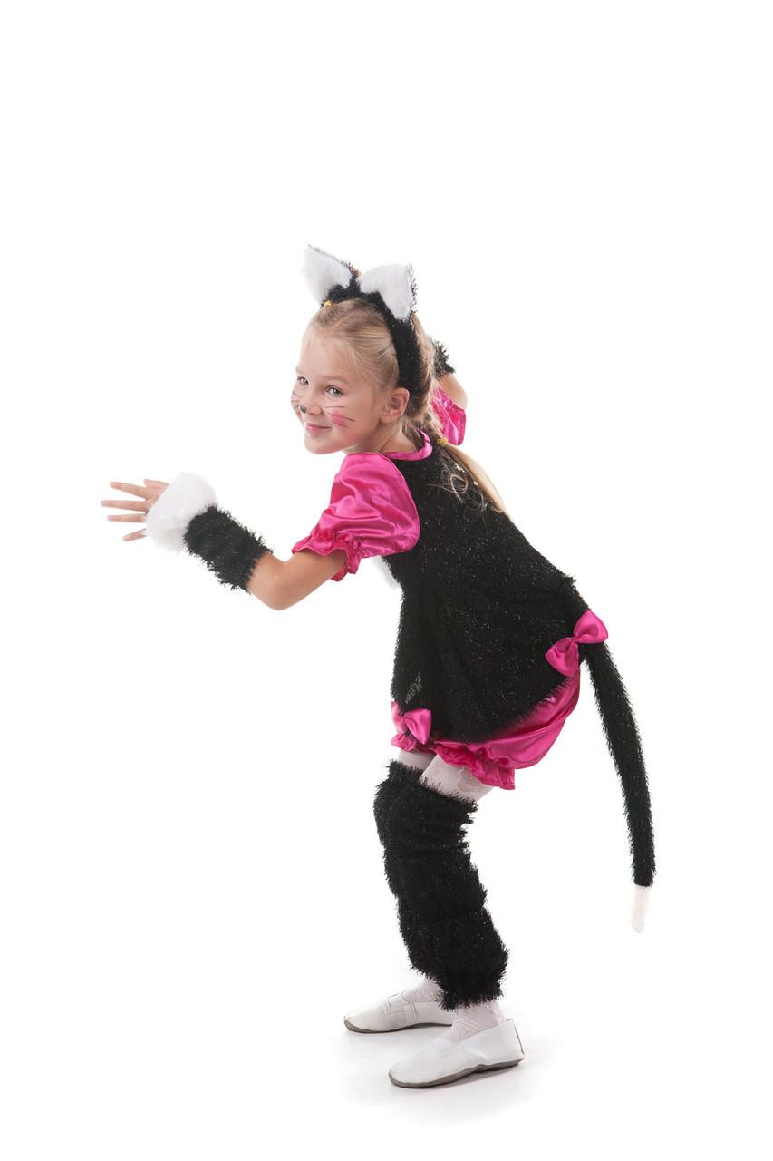 Карнавальный детский костюм Кошечка с ушками