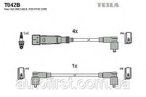 Провода зажигания Tesla T042B Skoda