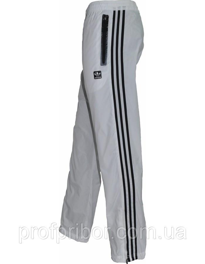 Мужские спортивные брюки Adidas из плащевки без подкладки копия