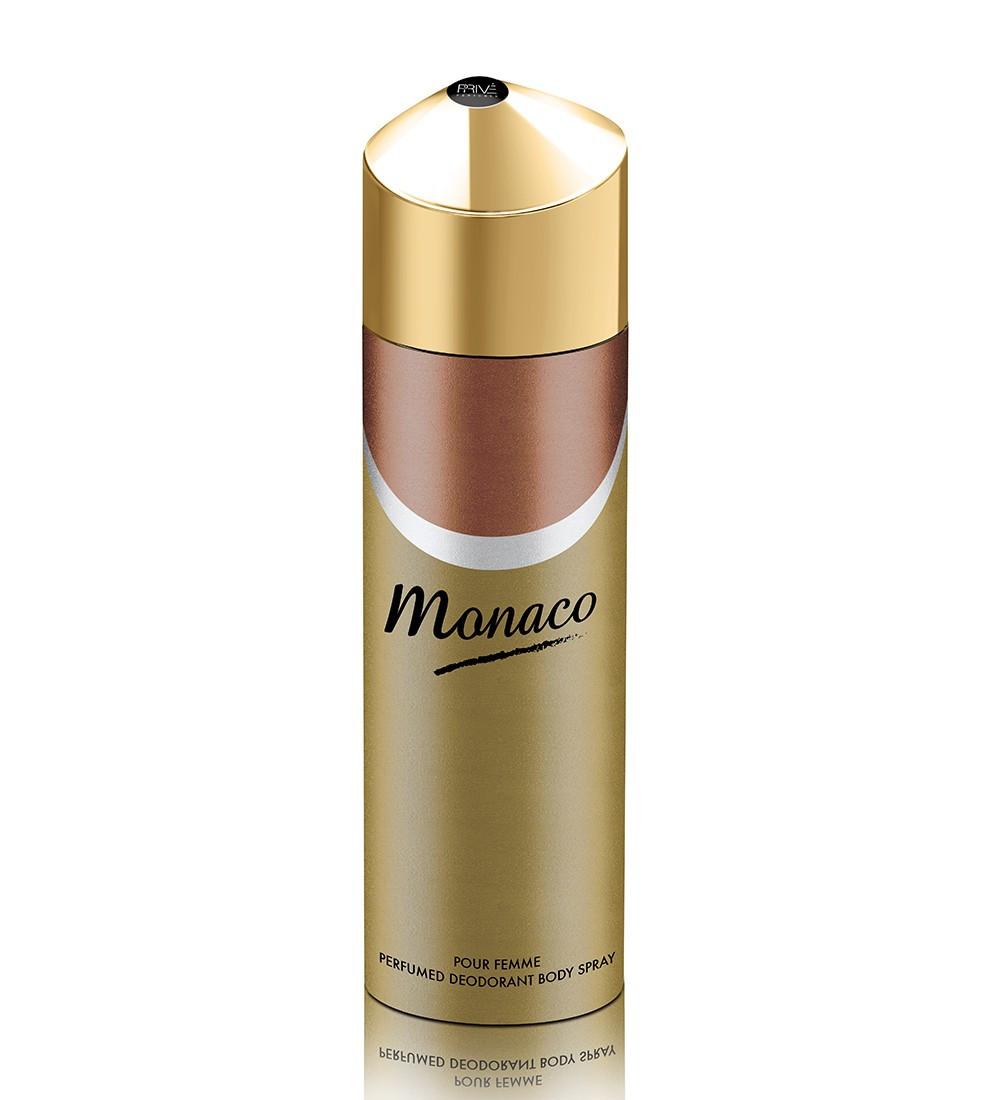 Парфюмированный  дезодорант женский Monaco 175ml. Prive Parfum
