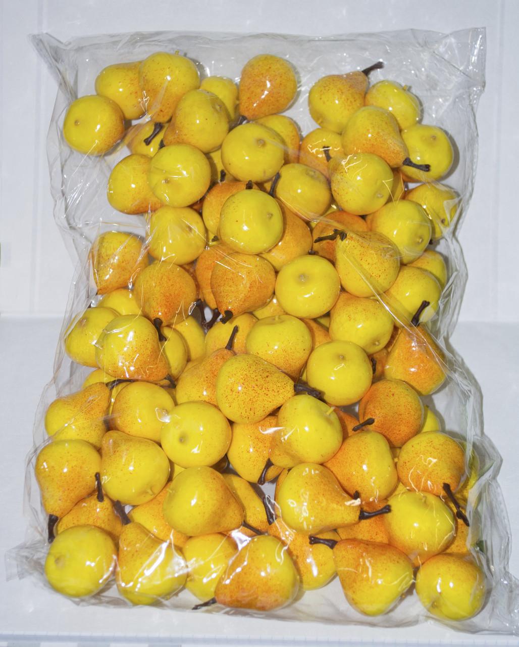 Искусственная груша упаковка 100 шт для декора