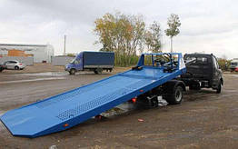 Переоборудование в эвакуатор грузового автомобиля