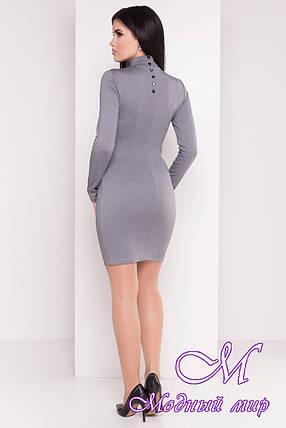 Женское осеннее короткое платье (р. S, M, L) арт. Терция - 6974, фото 2