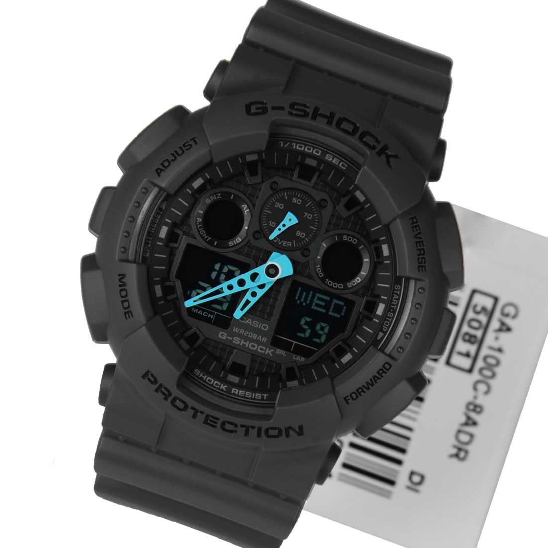 Часы Casio G-Shock GA-100C-8A В.