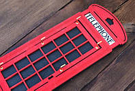 Ключница Лондонская Телефонная будка, фото 1