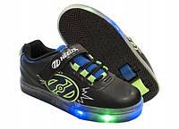 Кроссовки Heelys POW X2 LIGHTED  роликовые  двухколесные HE100014