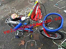 Детский двухколесный велосипед Тачки 12 дюймов