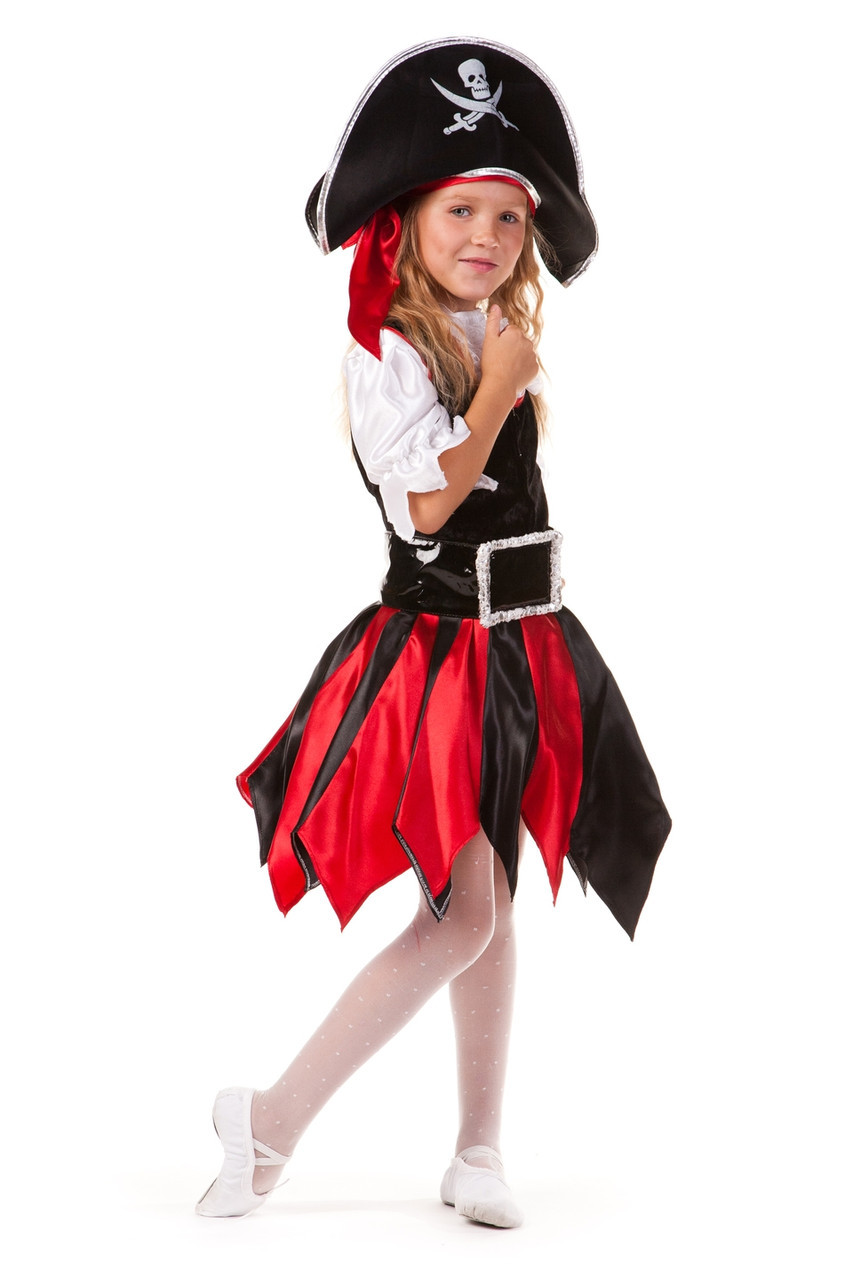 карнавальный костюм пиратка девочка