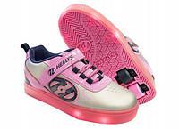Кроссовки Heelys POW X2 LIGHTED  роликовые  двухколесные HE100017