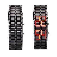 Наручные часы Led Red Iron Samurai браслет Железный самурай, Лэд
