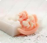 Силиконовый молд Лошадки, для полимерной глины., фото 3