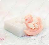 Силиконовый молд Лошадки, для полимерной глины., фото 4
