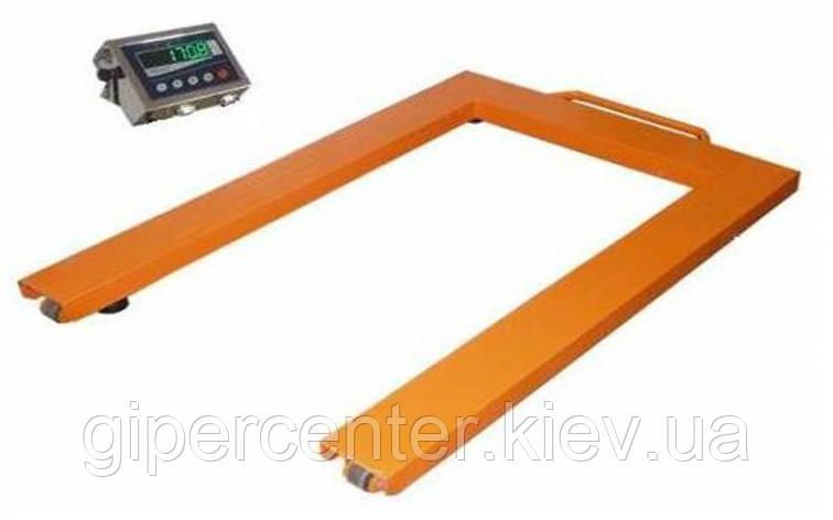 Весы паллетные Техноваги ТВ4-3000-1-U(1200х800х90)-S-12еh до 3000 кг, фото 2