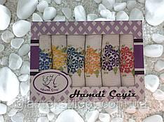 Подарунковий набір рушників 30*50 Hamdi (6 шт)Туреччина