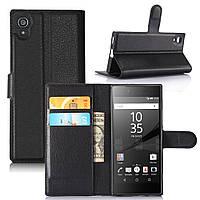 Чехол для Sony Xperia XA1 / G3112 / G3116 / G3121 / G3125 / G3123 книжка кожа PU черный