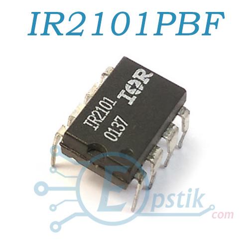 IR2101PBF, Драйвер ключей верхнего и нижнего уровней, DIP8