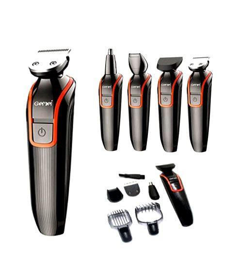 Набор для стрижки волос и бороды Gemei GM-583 MS