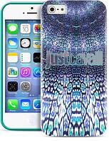 Чехол-накладкаPURO JUST CAVALLI Wild Mandala for iPhone 5/5S Green (JCIPC5MANDALAGRN)