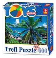 Пазлы Trefl «Пальмы у моря», 89004