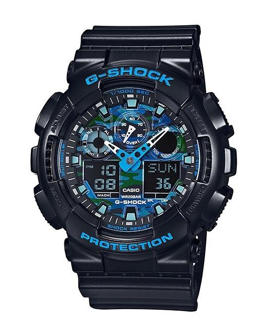 Часы Casio G-Shock GA-100CB-1A Camouflage В.