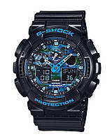 Часы Casio G-Shock GA-100CB-1A Camouflage В., фото 1