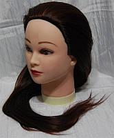 Учебная голова-манекен с искусственным термостойким волосами YRE-80-33 YRE