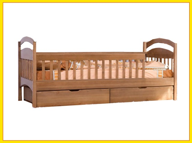 """Дитяче ліжко з дерева """"Каріна—Люкс"""""""