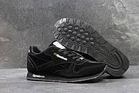 Кроссовки мужские Reebok Classic Leather since 1983. код SD-4022 Черные