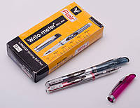 """Ручка масляная Flair """"10 км"""": красная, синяя, черная, в ассортименте, фото 1"""