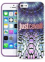 Чехол-накладкаPURO JUST CAVALLI Wild Mandala for iPhone 5/5S Violet (JCIPC5MANDALAVIO)