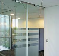 Мини система для стеклянных раздвижных дверей