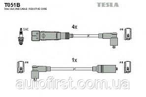 Высоковольтные провода Tesla T051B для автомобилей Audi