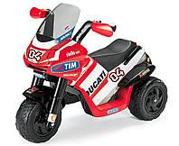 Детский мотоцикл Peg-Perego Ducati Desmosedici