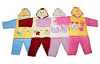 Костюмы детские флисовые  для мальчика и девочки. мишка №2