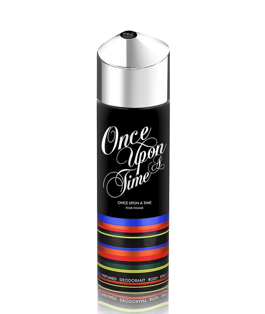 Парфюмированный дезодорант мужской Once Upon A Time 175 ml. Prive Parfum