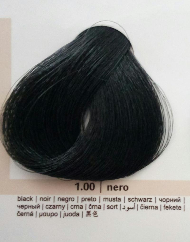 Краска для волос Colorianne Prestige Черный 1.00