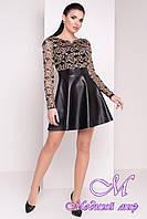 Красивое женское праздничное платье (р. S, M, L) арт. Бурже - 8784