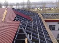Как рассчитать профнастил для крыши
