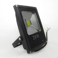 Прожектор светодиодный плоский, 20w 220V