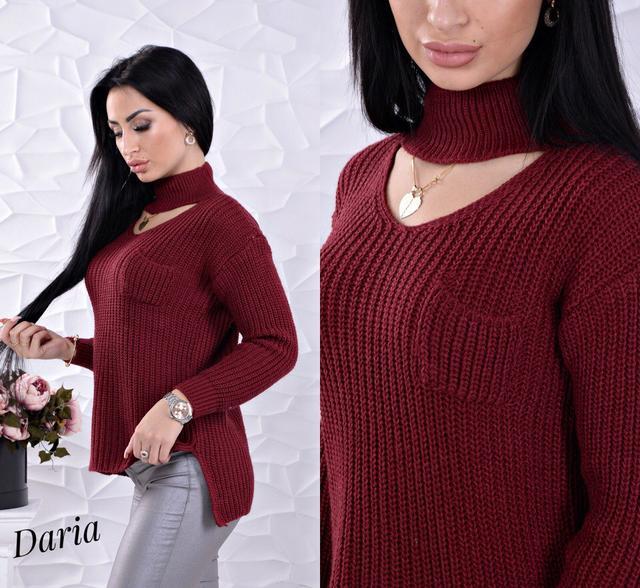 Свитер с чокером Турция 1299  заказ, цены в Харькове. свитеры и ... 486468cb826