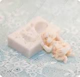 Силиконовый молд на 1-го младенца, 3 размера на выбор, для полимерной глины, мастики, эпоксидной смолы, фото 7