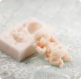 Силиконовый молд на 1-го младенца, 3 размера на выбор, для полимерной глины, мастики, эпоксидной смолы, фото 8
