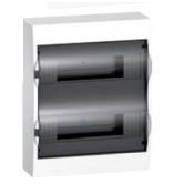 Щит Easy9 накладной 24 модулей дымч. дверь Schneider Electric (EZ9E212S2S)