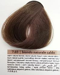 Краска для волос Colorianne Prestige Натуральный Теплый Блондин 7.03